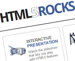 photo Google lance HTML5Rocks.com