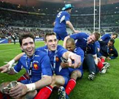 photo Grand Chelem du XV de France au tournoi des 6 nations 2004