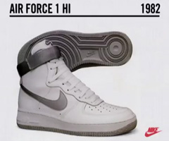 photo L'histoire de la Nike Air Force 1 1982