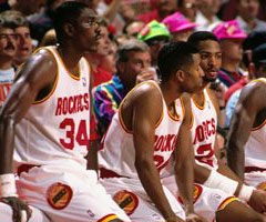 photo Houston Rockets champion NBA saison 1993 1994