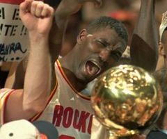 photo Houston Rockets champion NBA saison 1994 1995