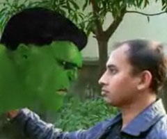 photo Hulk + Bollywood = HALKa