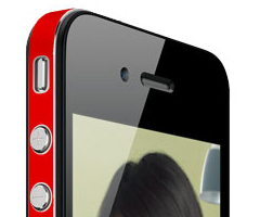 photo iColor wrap pour colorer et protéger votre iPhone 4