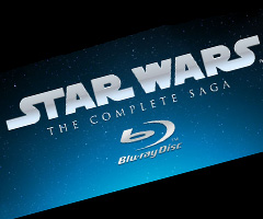 photo Intégral de Star Wars en Blu-Ray