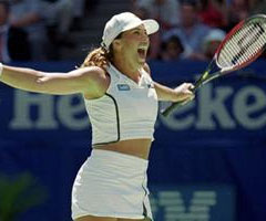 photo Jennifer Capriati gagne l'Open d'Australie 2001