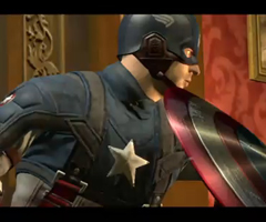 photo Jeu Captain America en 3D sur Xbox 360 et PS3