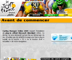 photo Jeu en ligne Tour de France 2010