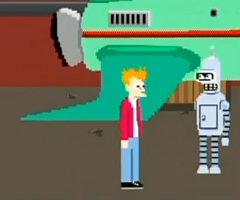 photo Jeu NES Futurama
