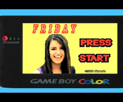 photo Jeu Rebecca Black Game Boy Color