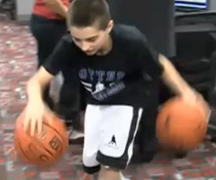 photo Jordan McCabe prodige du basketball de 12 ans