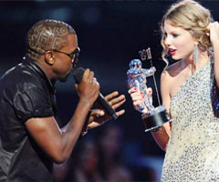 photo Kanye West stoppe les MTV VMA Awards