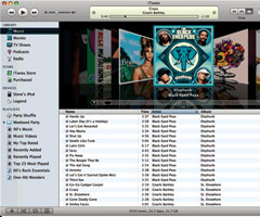 photo Lancement de iTunes 7