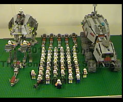 photo Lego Clone Wars 501e Légion par PizzaMovies