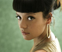 photo Lily Allen découverte MySpace