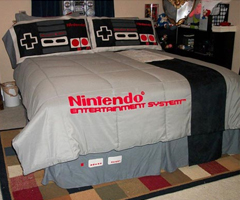 photo Le lit Nintendo NES
