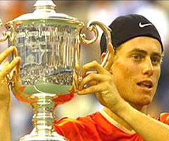 photo Lleyton Hewitt gagne l'US Open 2001