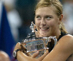 photo Maria Sharapova gagne l'US Open 2006