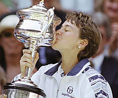 photo Martina Hingis gagne l'Open d'Australie 1997