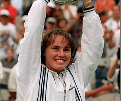 photo Martina Hingis gagne l'US Open 1997