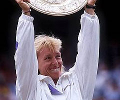 photo Martina Navratilova gagne Wimbledon 1990