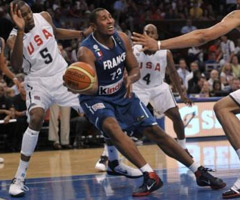 photo Match de Basket France - USA au Madison Square Garden de New York (Vidéos)