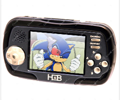 photo La Megadrive portable Camega (avec lecteur MP3, appareil photo et slot SD Card)
