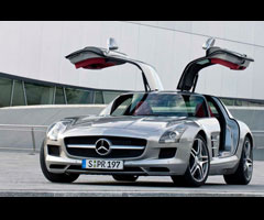 photo Mercedes SLS flashée à 290km/h, 726 000 euros d'amende