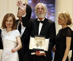 photo Michael Haneke Palme d'Or 2009