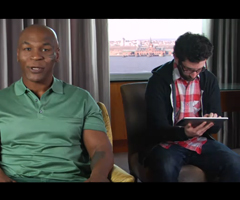 photo Mike Tyson pour Angry Birds sur iPad 2