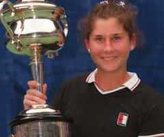 photo Monica Seles gagne l'Open d'Australie 1996