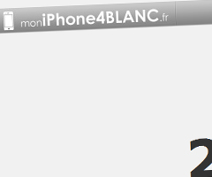 photo MoniPhone4Blanc.fr Annonce d'un iPhone 4 Blanc ?