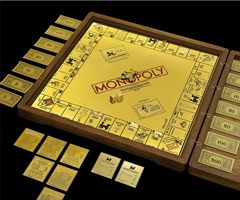 photo Un Monopoly en or 18 Carats