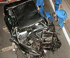 photo Mort Lady Di, accident de Lady Diana