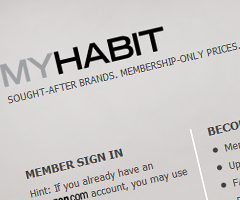photo MyHabit.com le Vente Privee de Amazon