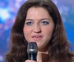 photo Nina candidate ukrainienne de Got Talent 2010