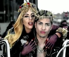 photo Nouveau clip Lady Gaga Judas