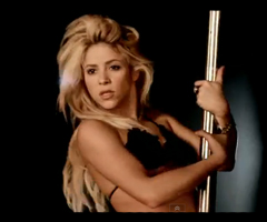 photo Nouveau clip Shakira Rabiosa