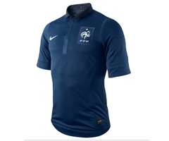 photo Nouveau maillot équipe de France de football 2011