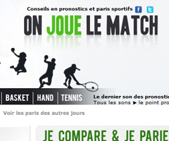 photo OnJoueLeMatch.fr Paris Sportifs RTL