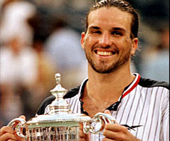 photo Patrick Rafter gagne l'US Open 1998