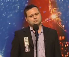 photo Paul Potts chante Nessun Dorma