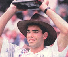 photo Pete Sampras gagne l'Open d'Australie 1994