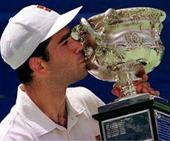 photo Pete Sampras gagne l'Open d'Australie 1997