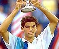 photo Pete Sampras gagne l'US Open 1990