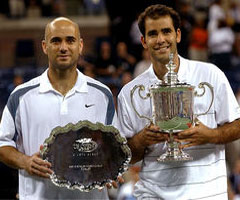 photo Pete Sampras gagne l'US Open 2002