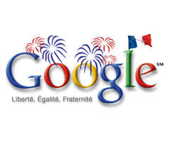 photo Premier Doodle de Google pour la France