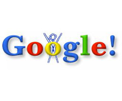 photo Premier Doodle de Google pour le festival Burning Man