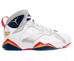 photo Réédition des Air Jordan 7 Retro Olympic