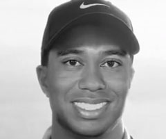 photo Remix de la nouvelle pub Nike de Tiger Woods avec la voix off de son Père