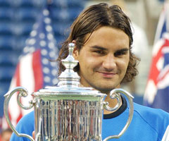 photo Roger Federer gagne l'US Open 2004